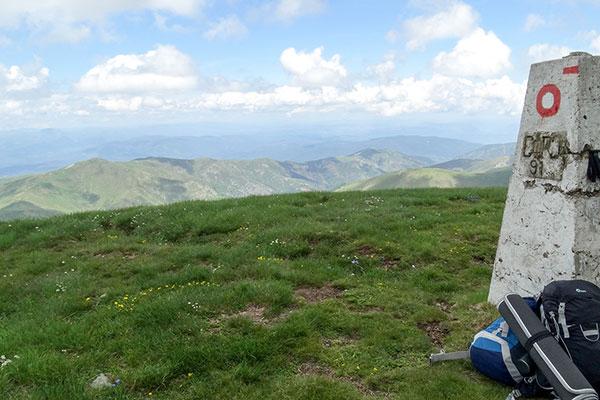 Backpack Nerd - Връх Руен на българо-македонската граница