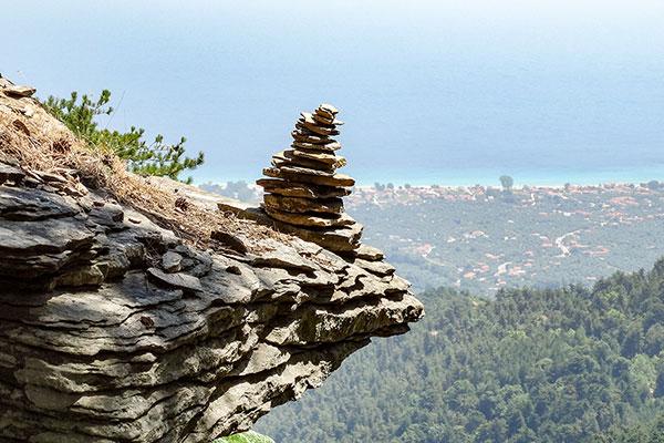 Backpack Nerd - Връх Ипсарио - първенецът на остров Тасос, Гърция