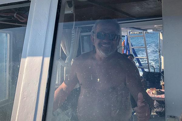 Backpack Nerd - Остров Диапорос и Синята лагуна с кораб