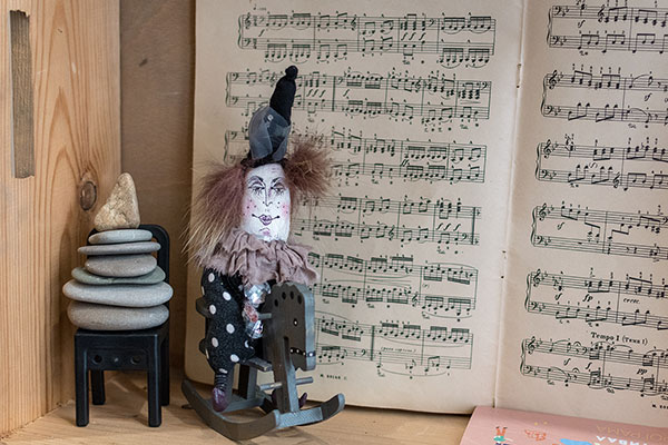Backpack Nerd - Кукли от тавана - работилница за кукли